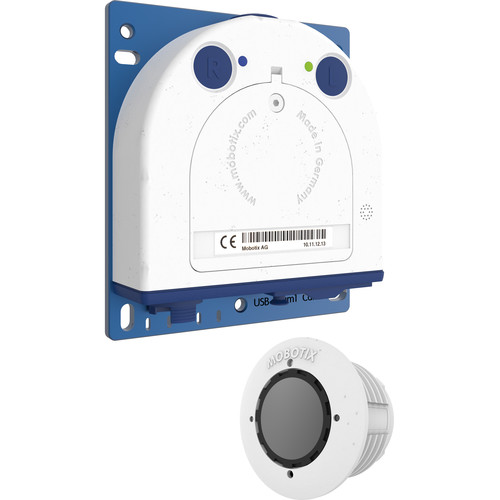 MOBOTIX (MX-S16A-S1) S16 DualFlex Complete Cam Set 1 6MP Outdoor Network Camera Body with B016 Day Sensor Module