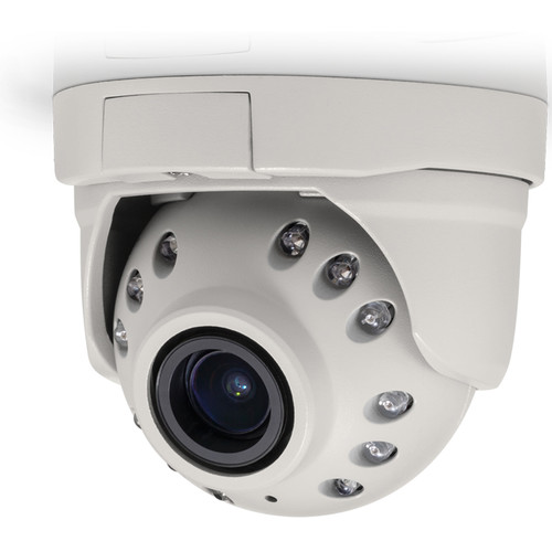 Arecont Vision (AV1245PMIR-SB-LG) MegaBall G2-Series 1.2MP Network Ball Camera with Night Vision and STELLAR Low-Light Technology (Bell Mount)