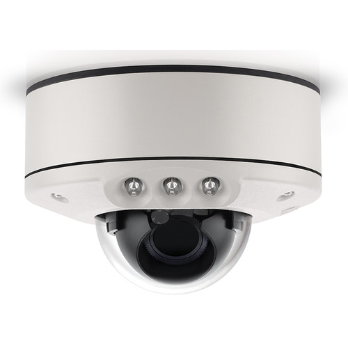Arecont Vision (AV3555DNIR-S-NL) MicroDome G2 AV3555DNIR 3MP Outdoor Network Dome Camera with SNAPstream & Night Vision (No Lens)