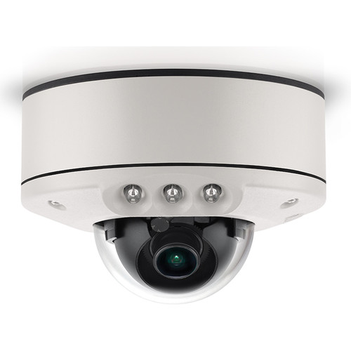 Arecont Vision (AV5555DNIR-S) MicroDome G2 AV5555DNIR 5MP Outdoor Network Dome Camera with SNAPstream & Night Vision (2.8mm Fixed Lens)
