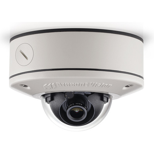 Arecont Vision (AV1555DN-S) MicroDome G2 1.2MP Outdoor Network Dome Camera with Surface Mount (2.8mm Fixed Lens)