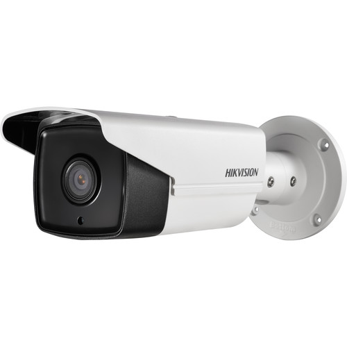 Hikvision (DS-2CD2T85FWD-I5-8MM) Value Series 8MP Outdoor Network Bullet Camera with Night Vision and 8mm Lens
