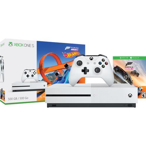Xbox One S 500GB Console Forza Horizon 3 Hot Wheels + 3 Free Games