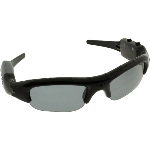 BrickHouse Security (SG-DVR) Sunglasses with Covert 720 x 480 Camera & DVR
