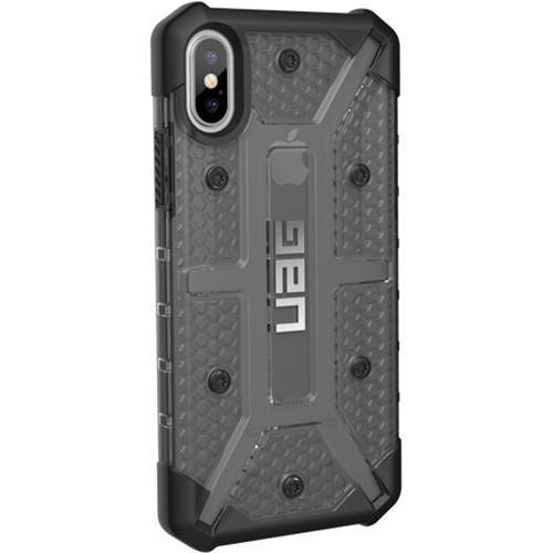 uk availability 4bc67 0f76c Urban Armor Gear Plasma Case for iPhone X/XS (Ash)