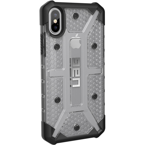 new concept 9cb28 c379d Urban Armor Gear Plasma Case for iPhone X/XS (Ice)