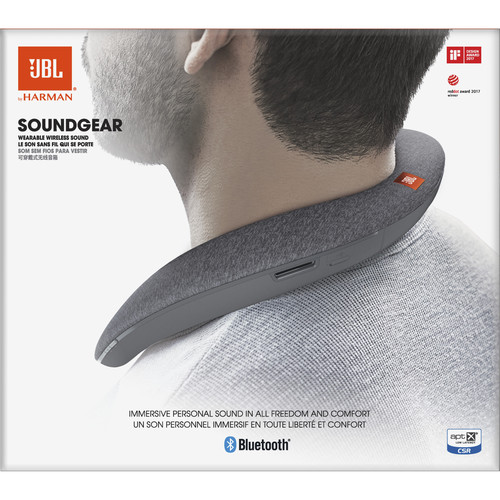JBL (JBLSOUNDGEARGRYAM) Soundgear Speaker (Gray)