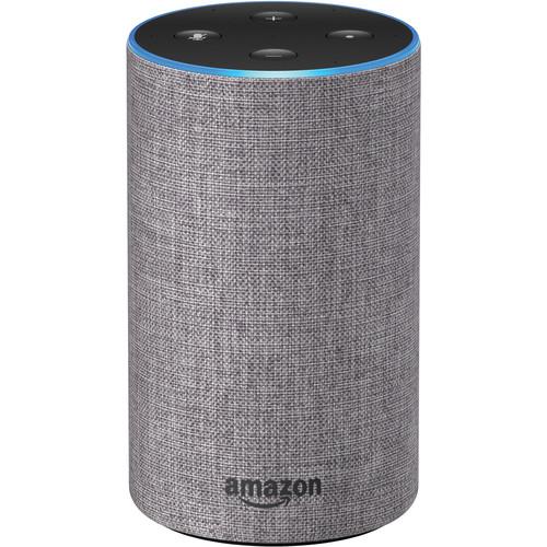 Amazon (B0749WVS7J) Echo (2nd Generation, Heather Gray Fabric)