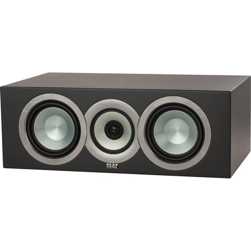 ELAC (CCU5-SB) Uni-Fi CC U5 Slim Three-Way Center Channel Speaker (Black)