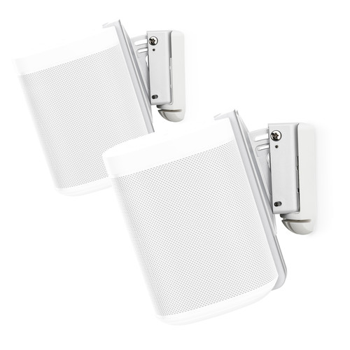 FLEXSON (AAV-FLXS1WM2011) S1-WMX2 Wall Mounts for Sonos One (White, Pair)