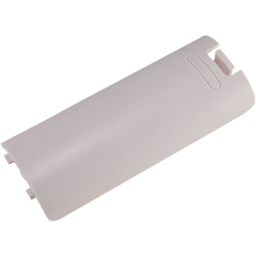 HYPERKIN Replacement Remote Battery Cover for Nintendo Wii Remote Control  (White)