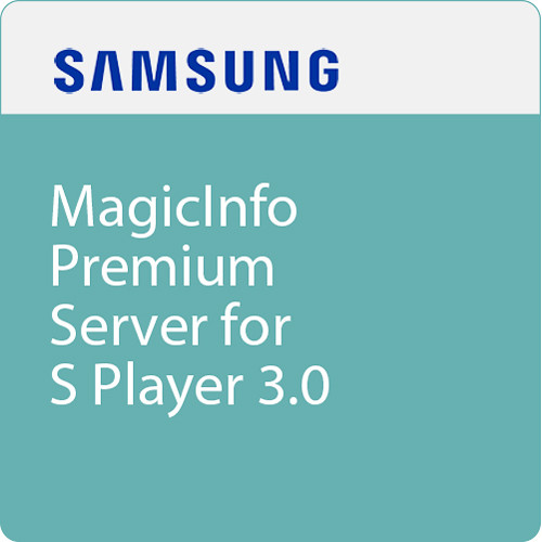 Samsung BW-MIP30PS MagicInfo Premium Server for S BW-MIP30PS B&H