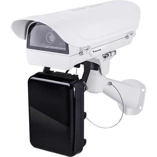 Vivotek (IP816A-LPCKIT-V2-S) License Plate Camera and Housing with Housing & IR Emitter Kit (Street)