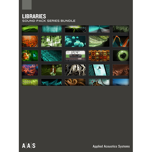 Applied Acoustics Systems Libraries Sound Pack Series AA-LIB B&H