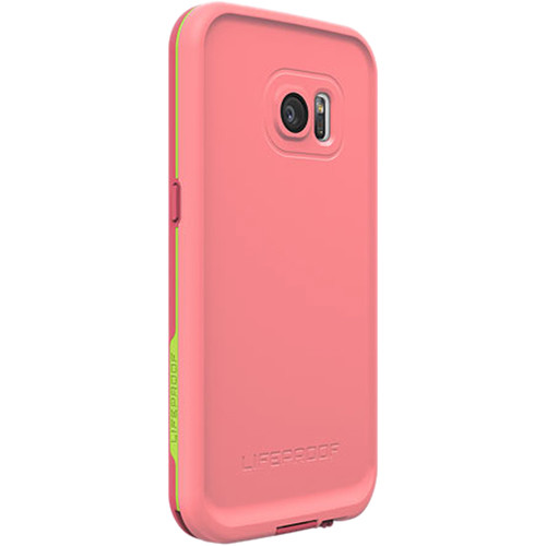 new style 6e958 7b19b LifeProof frē Case for Galaxy S7 (Sunset Pink)