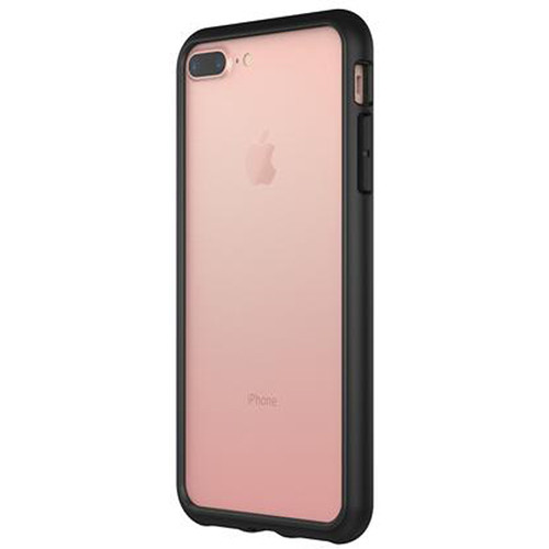 superior quality 666e8 a1cc5 RhinoShield CrashGuard Bumper for iPhone 7 Plus/8 Plus (Black)
