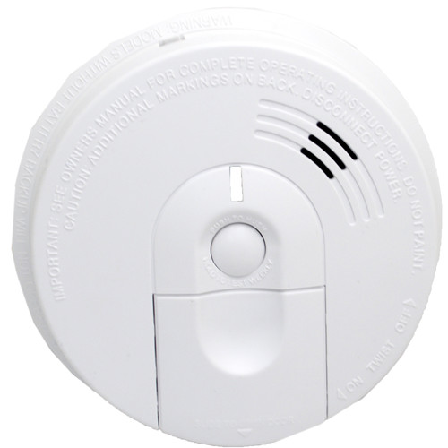 Bush Baby (BBWIFISMOKE-S) Stealth HD Wi-Fi Hardwired Smoke Detector with Side-View Camera