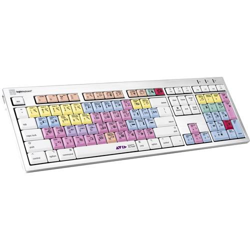 LogicKeyboard (LKBU-PT-CWMU-US) ALBA Keyboard for Avid Pro Tools (Mac, American English)