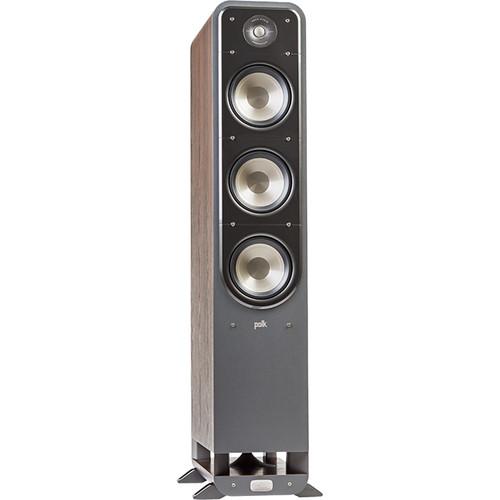 Polk Audio (AM9632) Signature Series S60 Floorstanding Speaker (Classic Brown Walnut, Single)