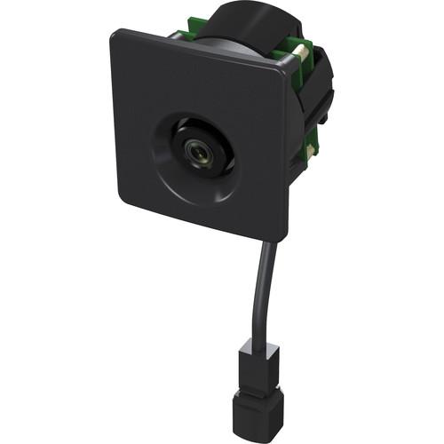 Weldex (WDP-84ML2M-BK) 2MP Network Mullion Camera with 2.9mm Lens (Black)
