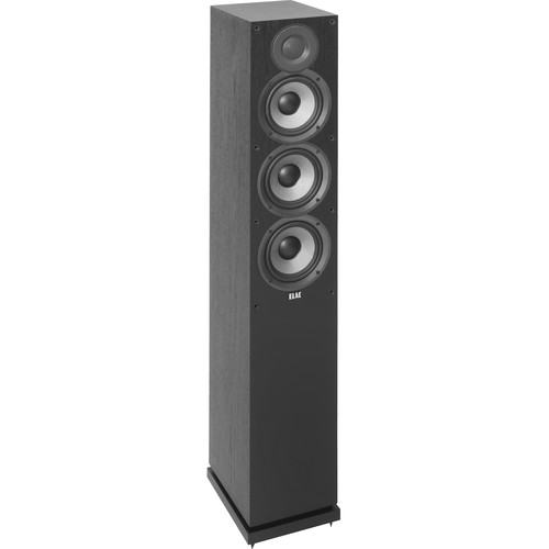 ELAC (DF52-BK) Debut 2.0 F5.2 Floorstanding 3-Way Speaker (Single)