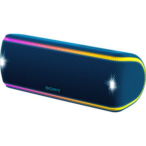 Sony (SRSXB31/LI) SRS-XB31 Portable Wireless Bluetooth Speaker (Blue)
