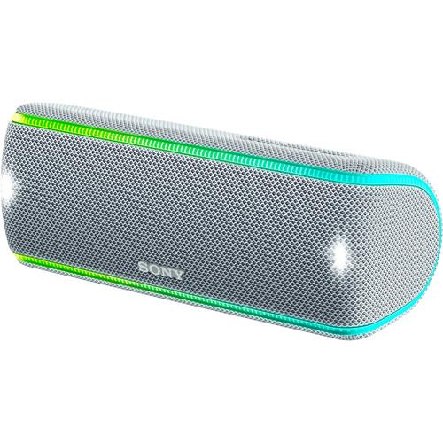 Sony (SRSXB31/W) SRS-XB31 Portable Wireless Bluetooth Speaker (White)