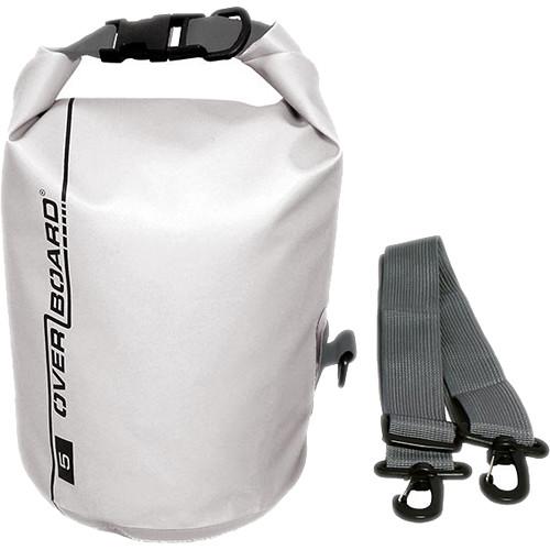 Overboard Waterproof Dry Bag 5l White