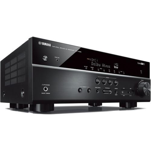 Yamaha (RX-V585BL) RX-V585 7.2-Channel MusicCast A/V Receiver