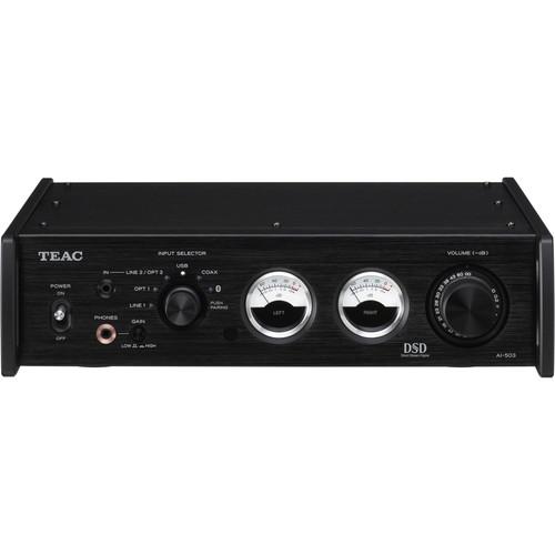 Teac (AI-503-B) AI-503 Stereo 60W Integrated Amplifier (Black)