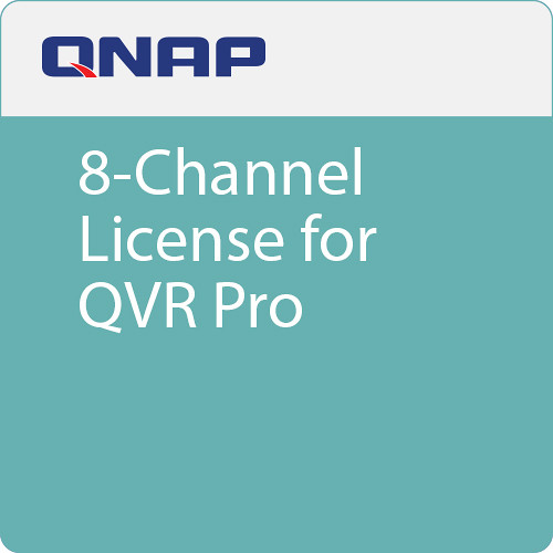 QNAP 8-Channel License for QVR Pro