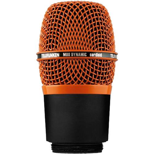Telefunken M80 Dynamic Live Stage Vocal Singing Recording Microphone Mic Orange