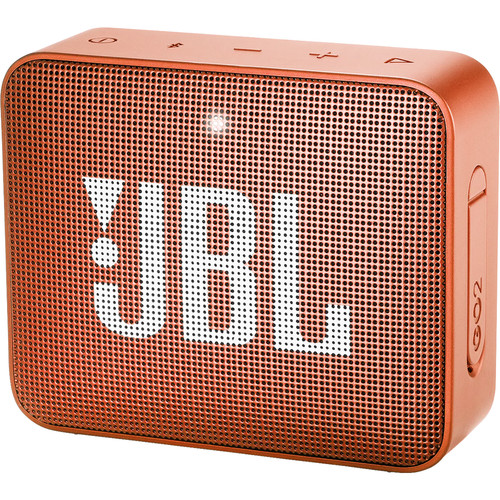 JBL (JBLGO2ORGAM) GO 2 Portable Wireless Speaker (Coral Orange)
