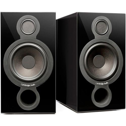 Cambridge Audio (C10728) Aeromax 2 2-Way Bookshelf Speakers (Gloss Black, Pair)