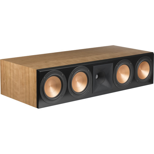 Klipsch (1064561) Reference RC-64 III 2.5-Way Center Channel Speaker (Natural Cherry)