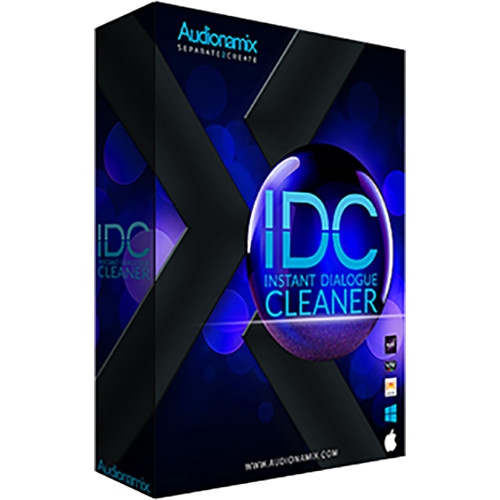 AUDIONAMIX IDC Instant Dialogue Cleaner - Speech De-Noising Software for  Pro Audio Applications (Download)