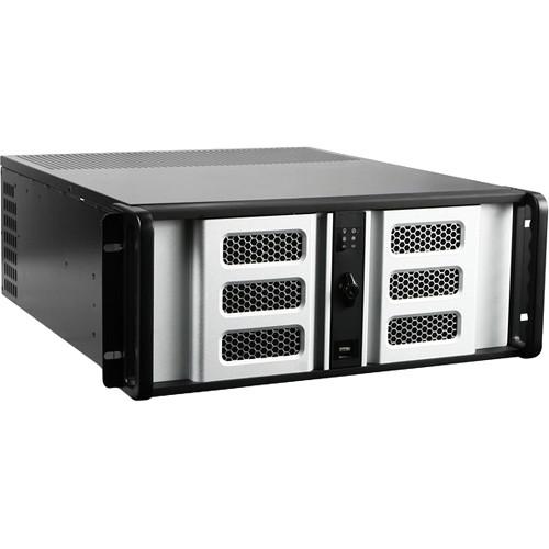 Silver USB 4U Istar Rack-mountable ATX