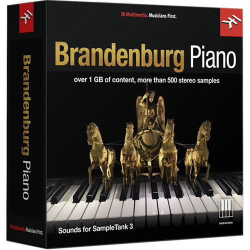 IK Multimedia Brandenburg Piano - SampleTank 3 Virtual Instrument (Download)