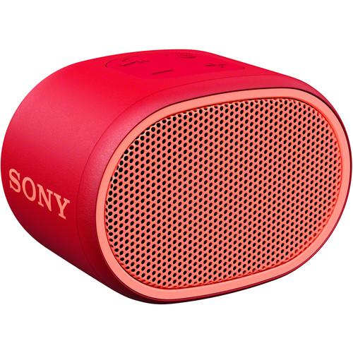 Sony (SRSXB01/R) SRS-XB01 EXTRA BASS Portable Bluetooth Speaker (Red)