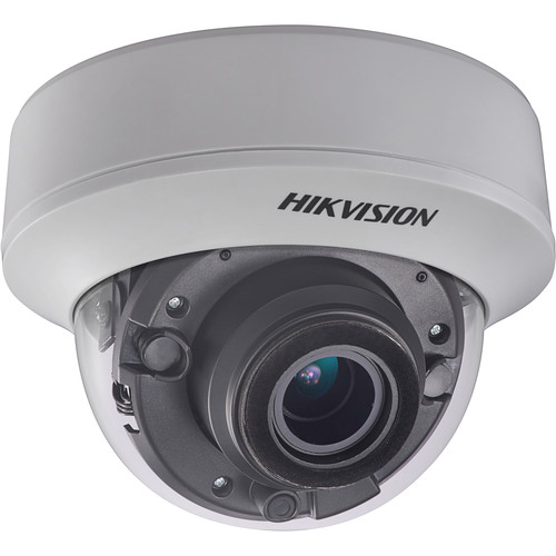 Hikvision (DS-2CE56D8T-VPIT 6MM) TurboHD DS-2CE56D8T-VPIT 2MP Outdoor HD-TVI Dome Camera with Night Vision & 6mm Lens (Ivory)