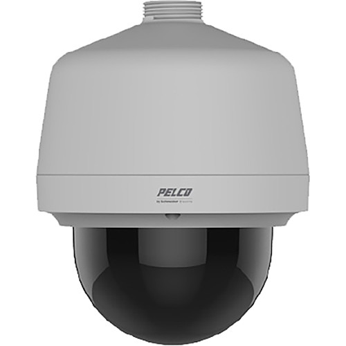 Pelco (P1220-ESR1) Spectra Professional Series P1220 PTZ Environmental Pendant IP Dome Camera with 4.3 to 86 mm Lens (Clear Bubble)