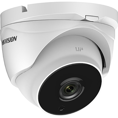 Hikvision (DS-2CE56D8TIT3 12MM) TurboHD DS-2CE56D8T-IT3 2MP Outdoor HD-TVI Turret Camera with Night Vision & 12mm Lens (Ivory)