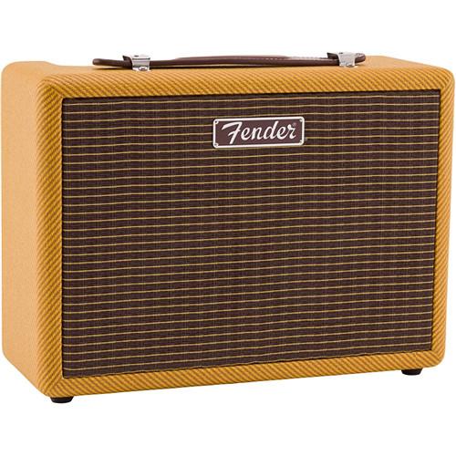 Fender (6960200001) Monterey Tweed 120W Amped Bluetooth Speaker with 2-Woofers,2-Tweeters/RCA-RIAA/3.5mm Stereo Inputs