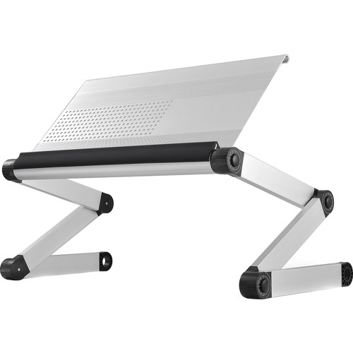 Uncaged Ergonomics (WEES) Workez Executive Laptop Stand (Silver)