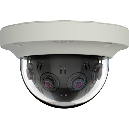 Pelco (IMM12018-1IUS) Optera IMM Series 12MP Panoramic In-Ceiling Dome Camera with SureVision 2.0 (Clear Bubble, US Version, White)
