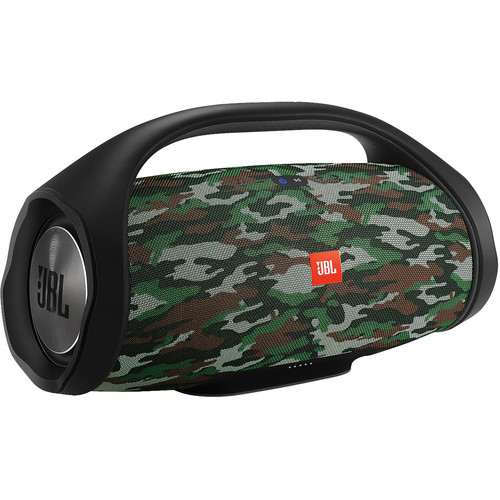 JBL (JBLBOOMBOXSQUADAM) Boombox Portable Bluetooth Speaker (Camouflage)