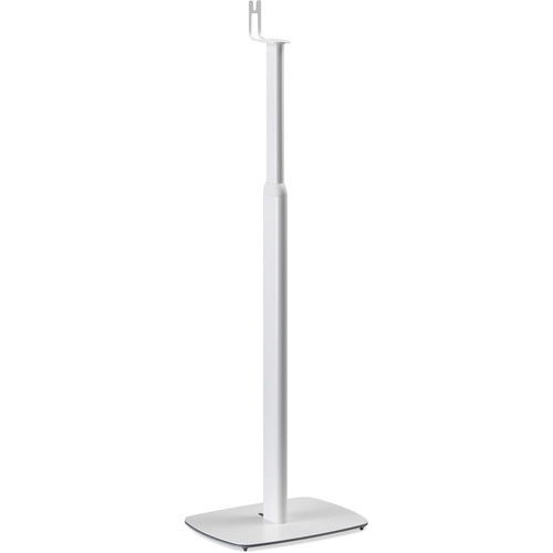 FLEXSON (FLXS1AFS2011) Adjustable Floor Stand for Sonos One, PLAY:1 (White, Pair)