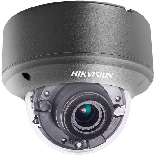 Hikvision (DS-2CE56D8T-AVPIT3ZB) TurboHD DS-2CE56D8T-AVPIT3Z 2MP Outdoor HD-TVI Dome Camera with Night Vision (Black)