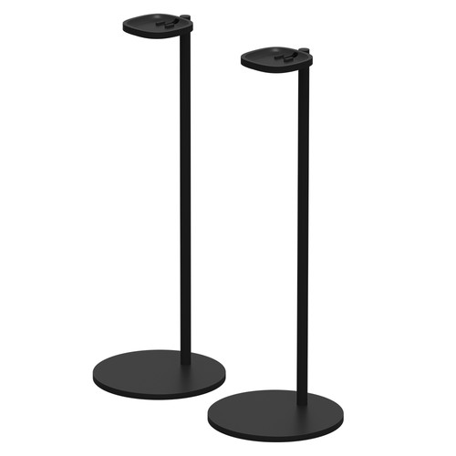 Sonos (SS1FSWW1BLK) Stands for the Sonos One or PLAY:1 (Black, Pair)