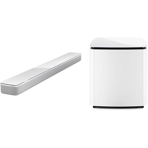 Bose Soundbar 700 and Bass Module 700 Kit (White)